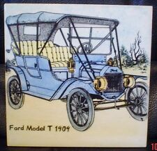 Florian Studios Saxmundham Suffolk FORD MODEL T 1909 Decorative Tile