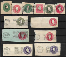 U.S. POSTAGE CUT SQUARES from Stamped Envelopes