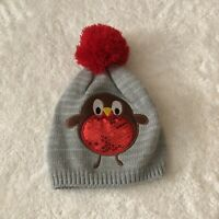 unbranded super cute little girls beanie one size owl print With Pom Pom On Top