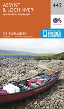 Assynt and Lochinver Explorer Map 442 - OS - Ordnance Survey