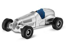 Originale Mercedes Benz Modellino Auto Minichamps Pullback Freccia Argento 1:64