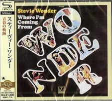 STEVIE WONDER-WHERE I'M COMING FROM-JAPAN SHM-CD D50