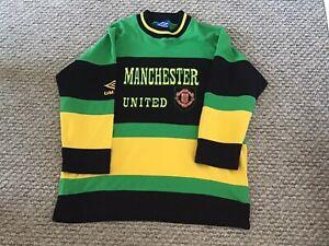 Manchester United Man Utd Newton Heath Umbro Jumper Sweatshirt XL