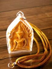 Buddhist Thai Amulet Pendant Pra Somdej With Neck Strap