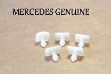 Mercedes W126 380SEC 380SE 420SEL Moulding Clip Lower Panel Set Of 5 1269880181