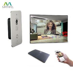 """2 Draht Video Türsprechanlage mit 7"""" Monitor"""