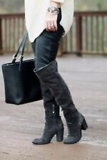 $288 Dolce Vita Ohana Silas Over The Knee Boots In Black  Sz  9 NWOB