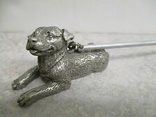 Pewter Candle Snuffer Rottweiler Dog