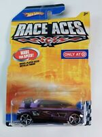 Rare Hot Wheels Race Aces Octainium Chrome Target Exclusive Rare Purple