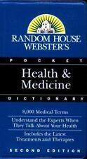 Random House Webster's Pocket Health & Medicine Dictionary-ExLibrary
