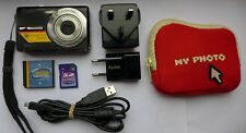 Kodak EASYSHARE M320 9.2MP Digital Camera + 1 GB Memory Card + Camera bag bundle