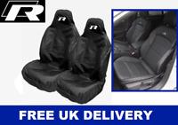 VW TIGUAN R-LINE Sport Car Seat Covers Protectors x2 - VOLKSWAGEN TIGUAN R
