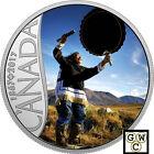 2017Drum Dancing-Celebrating Canada's 150th' $10 Silver 1/2oz .9999Fine(18155)NT