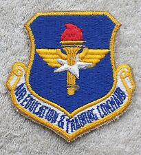 US AIR FORCE PATCH Air Education & Training Command Badge United States USAF