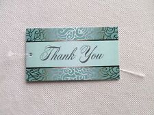 100 Price Tags Accessories Tags Cute Thank You Jewelry Hang Tags W Plastic Loops