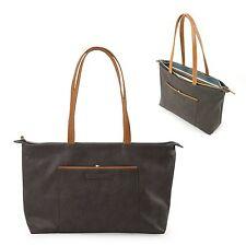 "Womens Ladies Leather Style 14""  Laptop Macbook Bag Case Handbag"