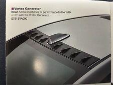 Subaru OEM SPT Vortex Generator 2015 2016 2017 WRX & STI E751SVA000 Genuine NEW