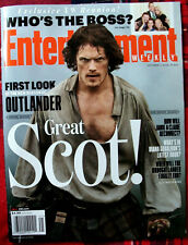Entertainment Weekly Sam Heughan Great Scot OUTLANDER 2016 Mint - No Label