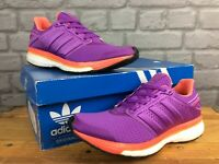 ADIDAS LADIES SUPERNOVA GLIDE 8 BOOST PURPLE RUNNING TRAINERS RRP£100 MANY SIZES