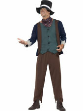 Mens Poor Victorian Man Fancy Dress Costume Male Dodger Outfit by Smiffys NEW