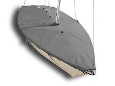 420 Sailboat - Boat Mast Up  Flat Cover - Gray Poly