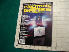 electornic GAMES magazine JANUARY 1985, CLEAN