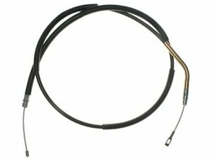 Fits 1981-1989 Lincoln Town Car Parking Brake Cable Rear Left Raybestos 33536MZ