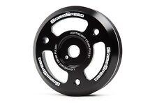 Grimmspeed Black Lightweight Crank Pulley For BRZ, FR-S, 2015+ WRX FA  | 095023