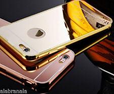 New Aluminium Metallic Thin Metal Mirror Back Case for iPhone SE/5/5s/ & 6/6s