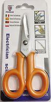 Multi Purpose Electrician Scissors Slot Knife Heavy Duty Stainless Steel Blades