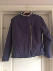 New Balance Size M Blue Grey Womens Coat Jacket