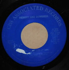 Henry Lee Summer I Wish I Had A Girl / Wing Tip Shoes 1986 Rock 45 on CBS