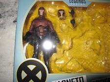 MARVEL LEGENDS 20th CENTURY FOX X-MEN MOVIES MAGNETO FIGURE NIB FROM 2 PACK