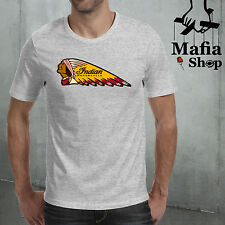 CAMISETA T-SHIRT INDIAN MOTORCYCLES SCOUT CHIEF BOBBER CUSTOM TOURING CHOPPER