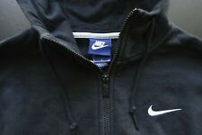 NIKE RED LABEL CLASSIC FIT COTTON/POLY SOLID BLACK MEN'S HOODIE SIZE: SMALL