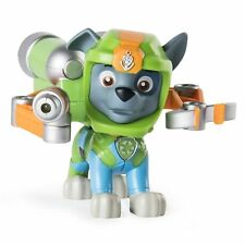 NEW Paw Sea Patrol Pup Pad Light Up Rocky Dog Figure w Animated Mission Card Toy