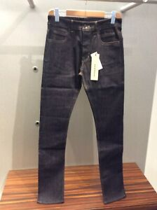 Rick Owens Drkshdw Detroit Stretch Blue Denim Made In Italy RRP£440.00 Size 36