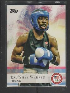 RAU'SHEE WARREN - 2012 OLYMPICS BOXING - TOPPS #2