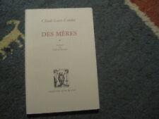 Claude LOUIS-COMBET: des mères