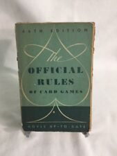 The Offical Rules of Card Games ~ 46th Edition ~ Hoyle ~ Up-To-Date 1948
