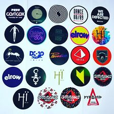 24 x Ibiza Club Stickers  - Amnesia Paradise Carl Cox Afterlife Pacha Ants 2018