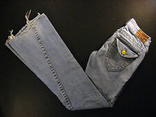 TRUE RELIGION womens Jeans 26 x 32 Horse Shoe Boot Cut Bell Botton Low Rise