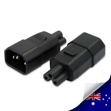 1 x C14 to C5 Adapter, IEC 320 C5 to C14 Power Adapter, AC Power Adpter (P002)