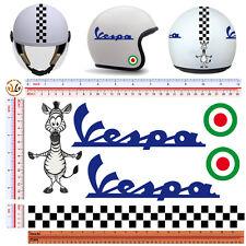 adesivi casco zebra strisce italia sticker helmet tuning italian flag 6 pz.