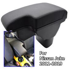 Car Armrest Storage Box Center Arm Rest For Nissan Juke Infiniti ESQ USB Leather