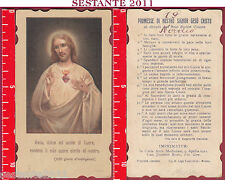 3100 SANTINO HOLY CARD SACRO CUORE DI GESù SANTA LEGA EUCARISTICA SLE 9088