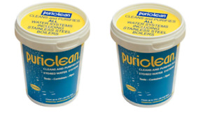 2 x Puriclean 400g Tubs Water Purification