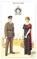 Postcard The British Army Series No.80 Army Legal Corps by Geoff White