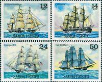 Samoa 1980 SG561-564 Ships set MNH