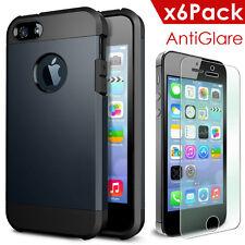 New Soft Rubber Back Defender Case Skin Shell iPHONE 5 5s Matte Film Anti-Glare